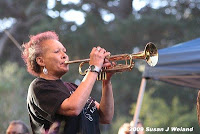 Cynthia Robinson Playing Trumpet With Sly and the Family Stone