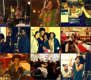 "Collage from the ""I'm Every Woman"" SWAN Day Event"