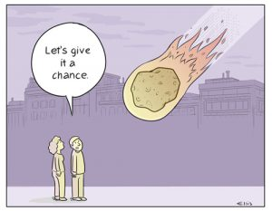 Give it a Chance - cartoon by Ellis Rosen