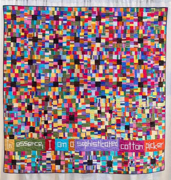 Cotton Sophisticate (2015) by Chawne Kimber Photo: Modern Quilt