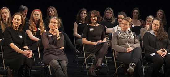 Waking The Feminists Meeting at the Abbey Theater, November 10, 2016