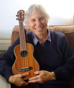 Martha Richards with Ukulele