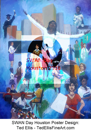 SWAN Day Houston Poster