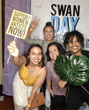 Participants at SWAN Day Chicago