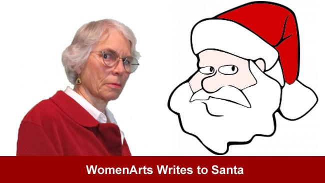 WomenArts Writes to Santa