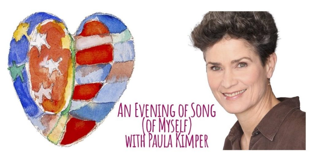 """Paula Kimper's """"Evening of Song of Myself"""""""